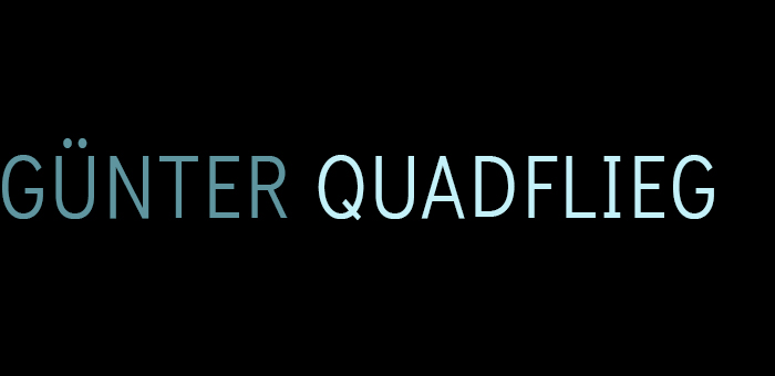 Günter Quadflieg - Design: 3D Modelling, Zeichnungen, Audio, Fotografie
